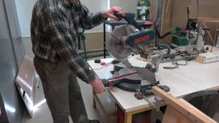 Bosch Compound Miter Saw Training