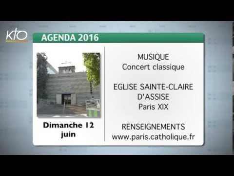 Agenda du 3 juin 2016