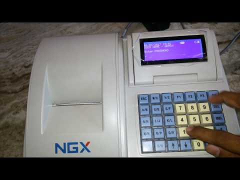 billing machine ngx NBP300 billing  with barcode scanner
