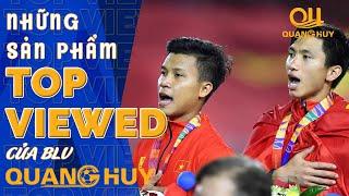 Toàn cảnh giây phút những người hùng U22 Việt Nam xúc động hát quốc ca với những tấm HCV trên tay