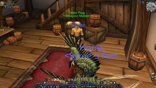Where to Train 1H Swords / 2H Swords (Alliance) WoW Classic