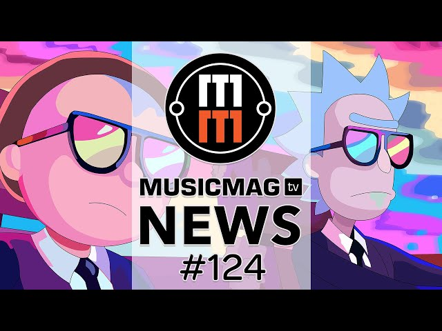 MUSICMAG TV NEWS #124: MFB Synth 8, PO-137 Rick & Morty, новости от Behringer и др.