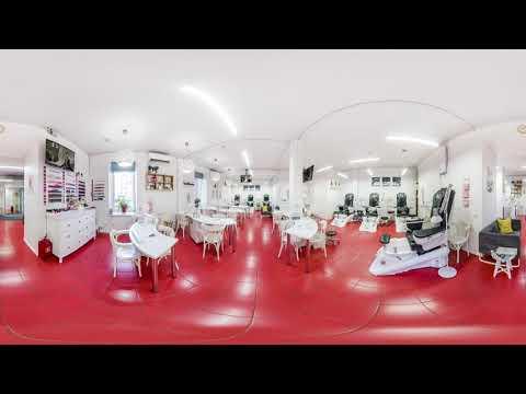 3D Видео обзор маникюрного салона ПАЛЬЧИКИ на Бауманской