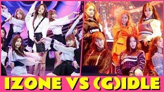 IZONE VS (G)I-DLE - HOTTEST NEW GIRL GROUP