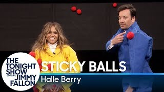 Sticky Balls With Halle Berry