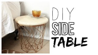 DIY Side Table | How To Make A Night Stand