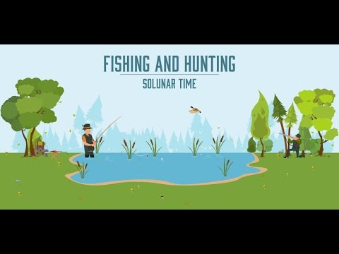 Video of Fishing & Hunting Solunar Time