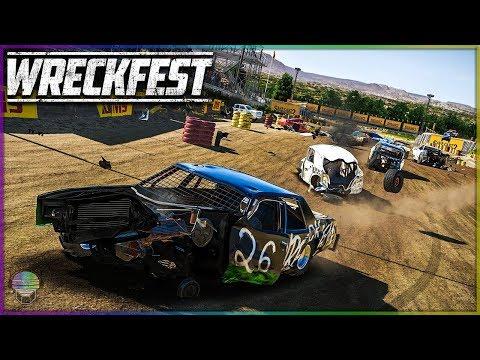 BEATDOWN AT BONEBREAKER! | Wreckfest