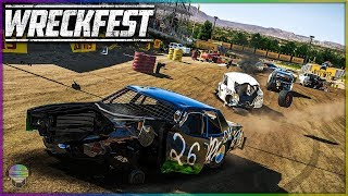 BEATDOWN AT BONEBREAKER! | Wreckfest