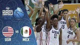 LIVE - USA v Mexico - FIBA U16 Women's Americas Championship 2019