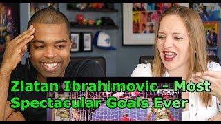 Zlatan Ibrahimovic - Most Spectacular Goals Ever |HD| (REACTION 🔥)