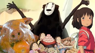 The SPIRITED AWAY No-Face Feast in REAL LIFE!