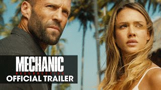 Mechanic Resurrection 2016 MovieJason Statham Jessica Alba Tommy Lee Jones – Official Trailer