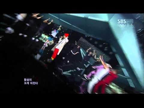 B.A.P -No Mercy @ Comeback Stage (22 July,2012)
