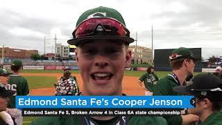 Varsity Baseball: Edmond Santa Fe wins Class 6A championship