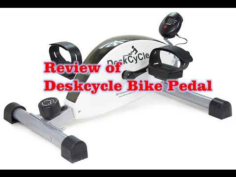 Review of DeskCycle Desk Exercise Bike Pedal Exerciser