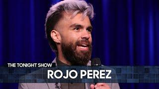 Rojo Perez Got Stuck in a Revolving Door with a Stranger | The Tonight Show Starring Jimmy Fallon thumbnail
