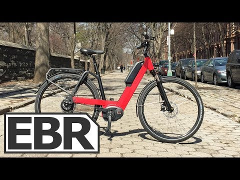 Riese & Müller Nevo NuVinci Video Review – Performance Step-Thru Electric Bike