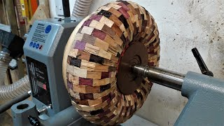 Woodturning - The Organised Chaos Torus