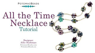 All The Time Necklace - DIY Jewelry Making Tutorial By PotomacBeads