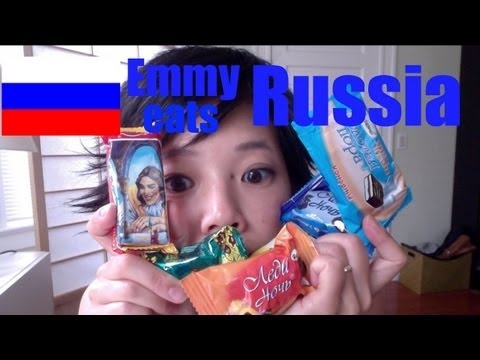 Emmy Eats Russia — tasting Russian sweets