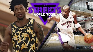 NBA LIVE 19 Streets World Tour - Throwback Vince Carter Is INSANE | THE KING IS HERE!