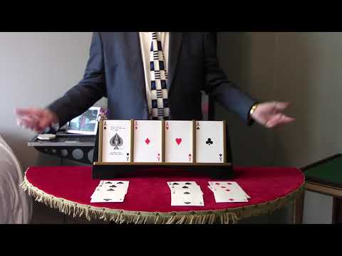 New Four Ace Jumbo (Four of a Kind) by Thayer Quality Magic (2)