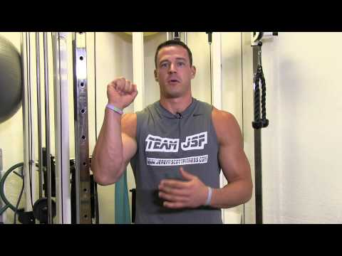 Seated Cable Shoulder Press