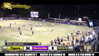 Prairie Grove (48) vs Berryville (0) 2012