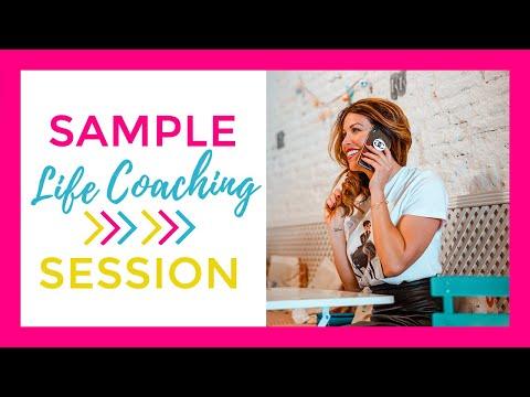 LIFE COACH: Sample Life Coaching Session