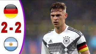 Germany vs Argentina 2-2 | Highlights & All Goals 10/10/2019 hd ( last match )