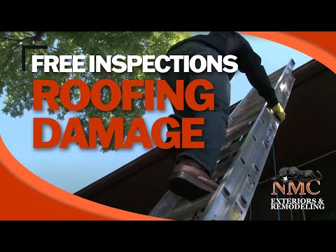 Molly Mortenson, Co-Owner of NMC, and Jeff Sklar, Sales Manager of NMC, walk you through a roof inspection after a home was struck by a storm.