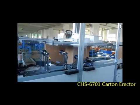 CHS-6701 Automatic Carton Erector Machine