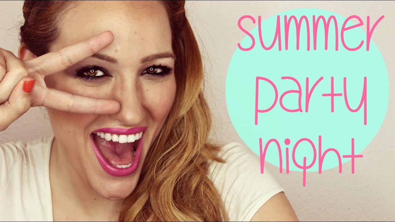 Look para una noche de verano! Summer Party Night Look! NARS, Benefit y Jorge de la Garza!