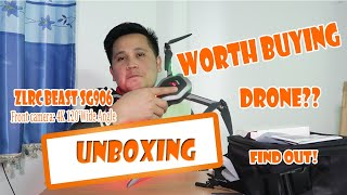 ZLRC Beast SG906 5G Wifi FPV GPS 4K Camera Foldable Drone - Unboxing