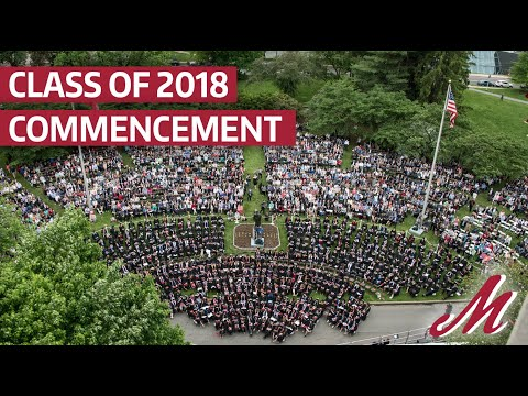 2018 Muhlenberg College Commencement
