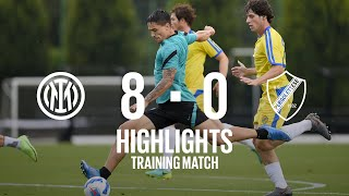 INTER 8-0 PERGOLETTESE | TRAINING MATCH HIGHLIGHTS | Darmian, Satriano and Pinamonti with a brace!
