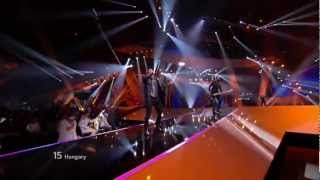 HD Eurovision 2012 Hungary: Compact Disco - Sound Of Our Hearts (Semi-Final 1)
