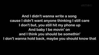 Justin Bieber - Love Yourself (Lyrics Video) Cover
