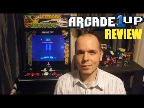 Arcade1Up Atari Deluxe Arcade Cabinet - 12 Games & Riser For