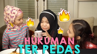 Hukuman Ter Pedas - Drawing Blindfold Challenge With Peachy liv and Saleha halilintar