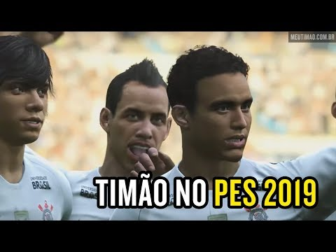 Jogadores do Corinthians no PES 2019; confira!