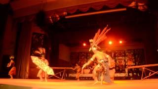 "Cultural Shows At Sarawak Cultural Village: ""Ngajat Pahlawan"" (Iban Warrior Dance)"