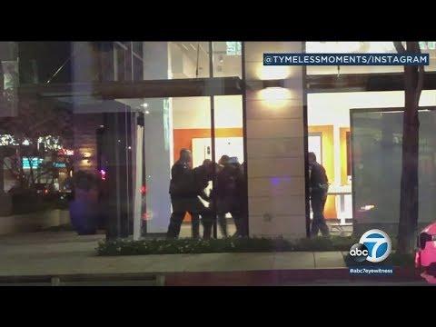 2 LAPD officers bitten by suspect in Tarzana | ABC7