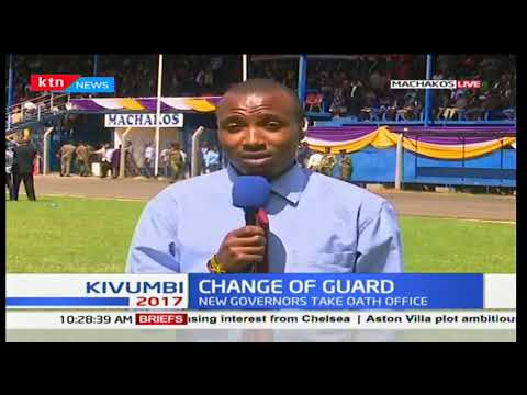Change of guard : Alfred Mutua among the governors to be sworn in first