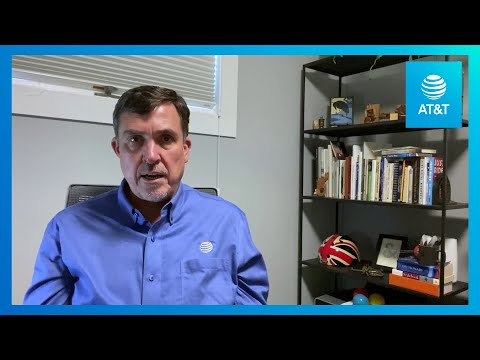 AT&T's Disaster Preparedness Practices Help Fight COVID-19 | AT&T-YoutubeVideoText