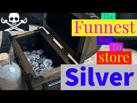 The funnest way to store your silver!