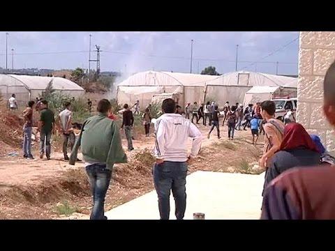Δυτική Όχθη: Η κάμερα του euronews στην καρδιά των επεισοδίων