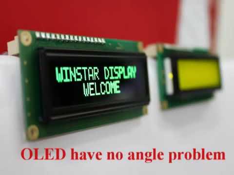 Огляд Arduino сумісного модульного OLED дисплею фірми Winstar