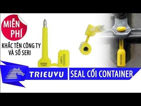 product manuals bolt seal tvs 13 | trieu vu company